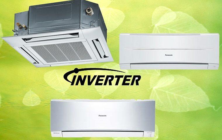 Điều hòa Panasonic được trang bị công nghệ inverter làm lạnh cực nhanh và tiết kiệm điện