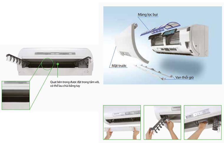Điều hòa Mitsubishi Heavy rất tiết kiệm điện năng