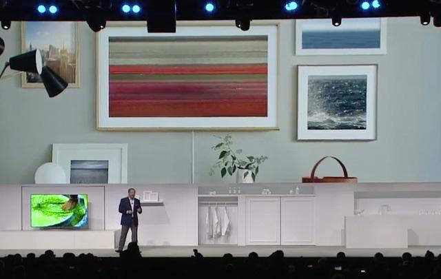CES 2017 - Samsung Giới Thiệu Tivi Lifestyle Không Bao Giờ Tắt
