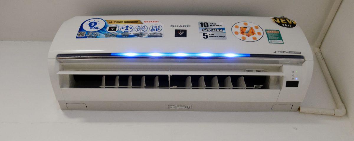 Đánh Giá Điều Hòa Sharp 1 Chiều 12000BTU AH-XP13UHW Inverter