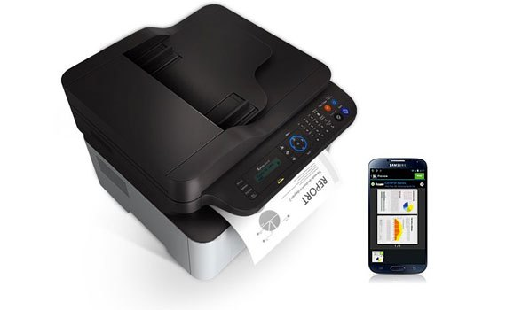 Máy in Laser Samsung SL-M2070F tiết kiệm mực in